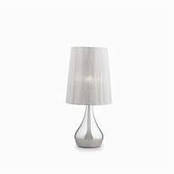 Stolní lampa Ideal Lux ETERNITY TL1 SMALL ARGENTO