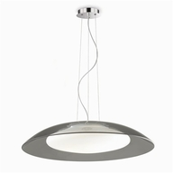 Lustr Ideal Lux LENA SP3 D64 GRIGIO