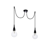 Lustr Ideal Lux MINIMAL SP2 NERO Opaco