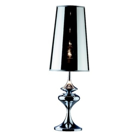 Stolní lampa Ideal Lux ALFIERE TL1 Big Cromo