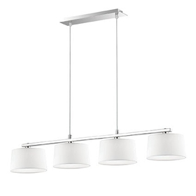 Lustr Ideal Lux HILTON SP4 Linear Bianco