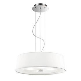 Lustr Ideal Lux HILTON SP4 Round Bianco