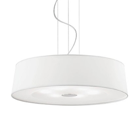 Lustr Ideal Lux HILTON SP6 Round Bianco