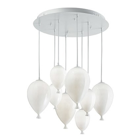 Lustr Ideal Lux Clown SP8 Bianco