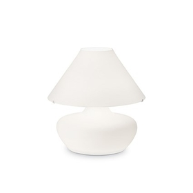 Stolní lampa Ideal Lux Aladino TL3 D35 Bianco