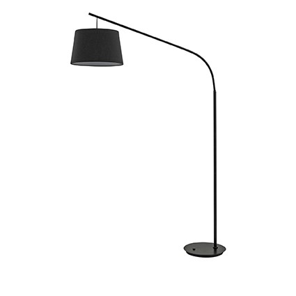 Stojací lampa Ideal Lux DADDY PT1 NERO